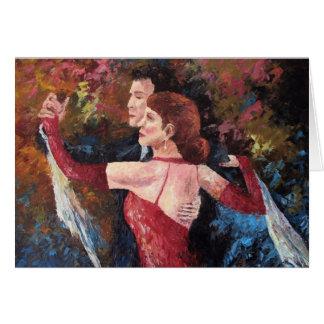 """""""Two To Tango"""" (Blank Card)"""
