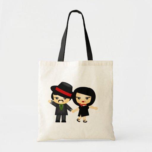 Two to Tango Budget Tote Bag