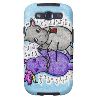 Two to Tango Hippos Galaxy SIII Case