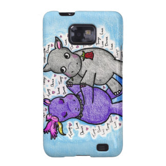 Two to Tango Hippos Samsung Galaxy Covers