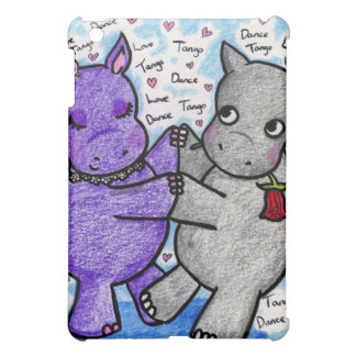 Two to Tango Hippos iPad Mini Cases
