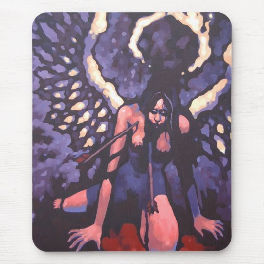 Two to the Chest - Goad Mouse Pad