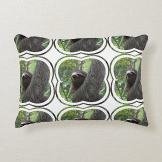 Two Toed Sloth Accent Pillow