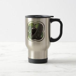 Two Toed Sloth Stainless Travel Mug