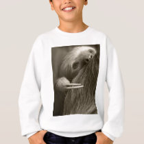 two toed sloth sweatshirt