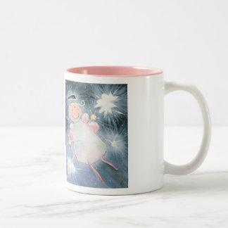 Two-Tone Angel Mug