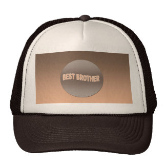 Two Tone Best Brother Trucker Hat