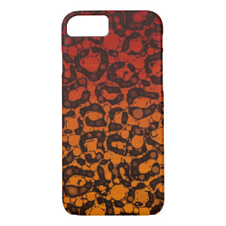 Two Tone Black Red Cheetah iPhone 8/7 Case