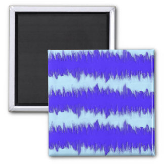 Two Tone Blue Pulse Magnet