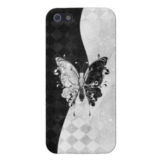 Two Tone Butterfly Cover For iPhone SE/5/5s