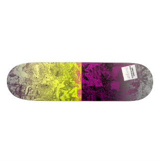 Two Tone by Hannah Stouffer Skateboard Deck