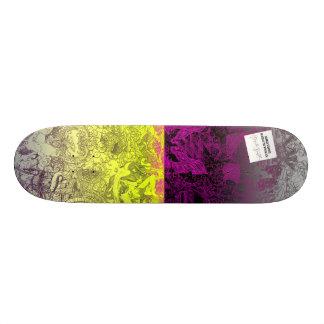 Two Tone by Hannah Stouffer Skateboard Deck