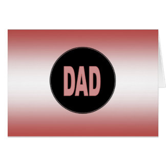 Two Tone Dad Card