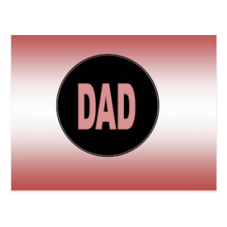 Two Tone Dad Postcard