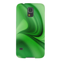 Two Tone Emerald Swirl Case For Galaxy S5