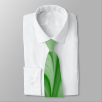 Two Tone Emerald Swirl Neck Tie