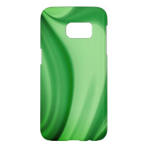 Two Tone Emerald Swirl Samsung Galaxy S7 Case