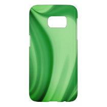 Two Tone Emerald Swirl Samsung Galaxy S7 Case