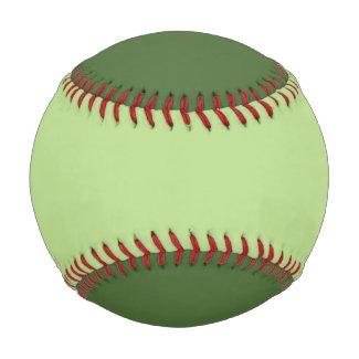 Two Tone Green Baseballs