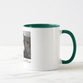 Two-Tone Green Host Mug
