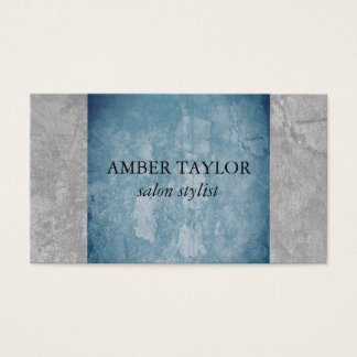 Two Tone Grunge Texture Business Card