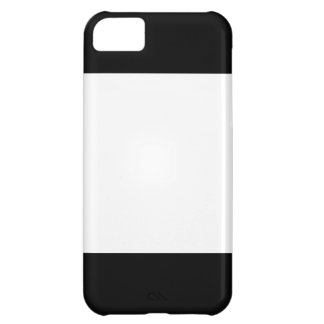 Two-tone iPhone 5 Case Black and White