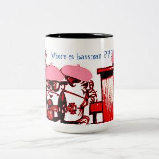 Two tone jazz band mug