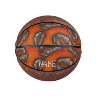 Two Tone Lips  Monogram Basketball