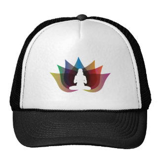 Two Tone Lotus Flower Hat