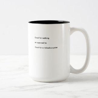 Two-Tone Mug Good for Nothing