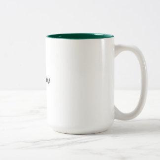 Two Tone Mug  Hunter Green