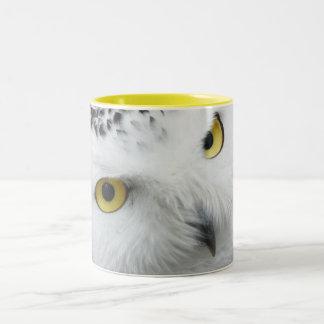 Two tone mug whith owl
