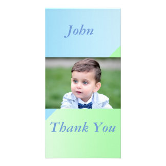 two tone pastels photo card