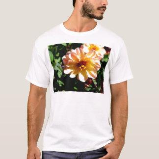 Two Tone Peach Dahlia-PhotoMagic T-Shirt