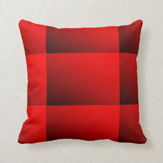 Two Tone Red Cushion Pillows