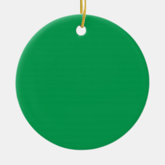 Two-Tone Red & Green Background on an Ornament