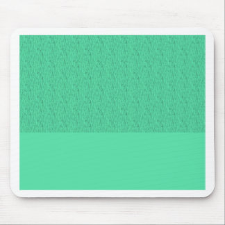 Two tone sea foam teal background mouse pad
