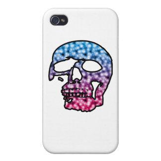 two tone skate skull iPhone 4/4S case