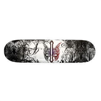 two-tone skateboard shallow divine
