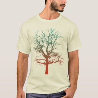 Two-Tone Tree T T-Shirt