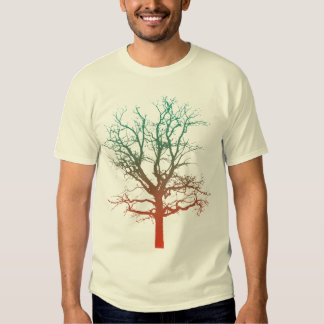 Two-Tone Tree T T-shirts