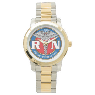 Two-Tone Watch, Gold and Silver Tone Wristwatch