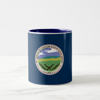 Two Tone Whitetop Seal Mug
