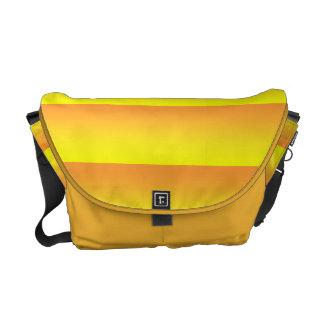 Two Tone Yellow Messenger Bag
