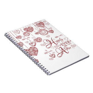 Two Toned Happily Ever After Notebook