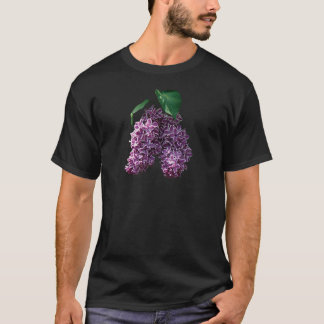 Two Toned Lilacs Mens T-Shirt