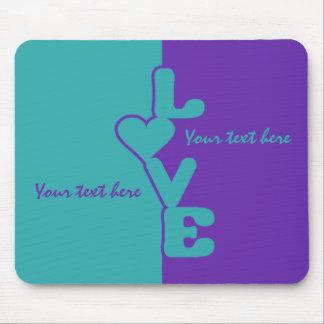 Two-Toned Love custom mousepad