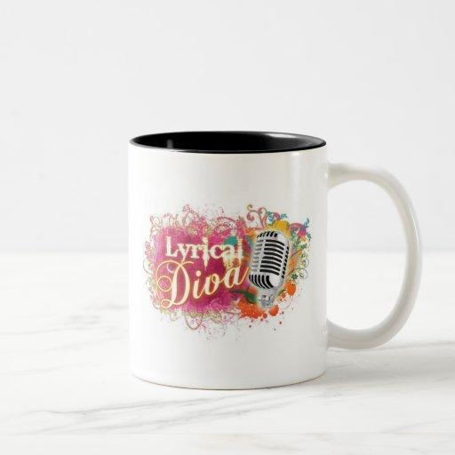 Two-Toned Lyrical Mug