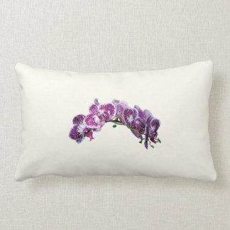 Two-Toned Magenta Orchid Lumbar Pillow