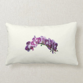 Two-Toned Magenta Orchid Throw Pillows